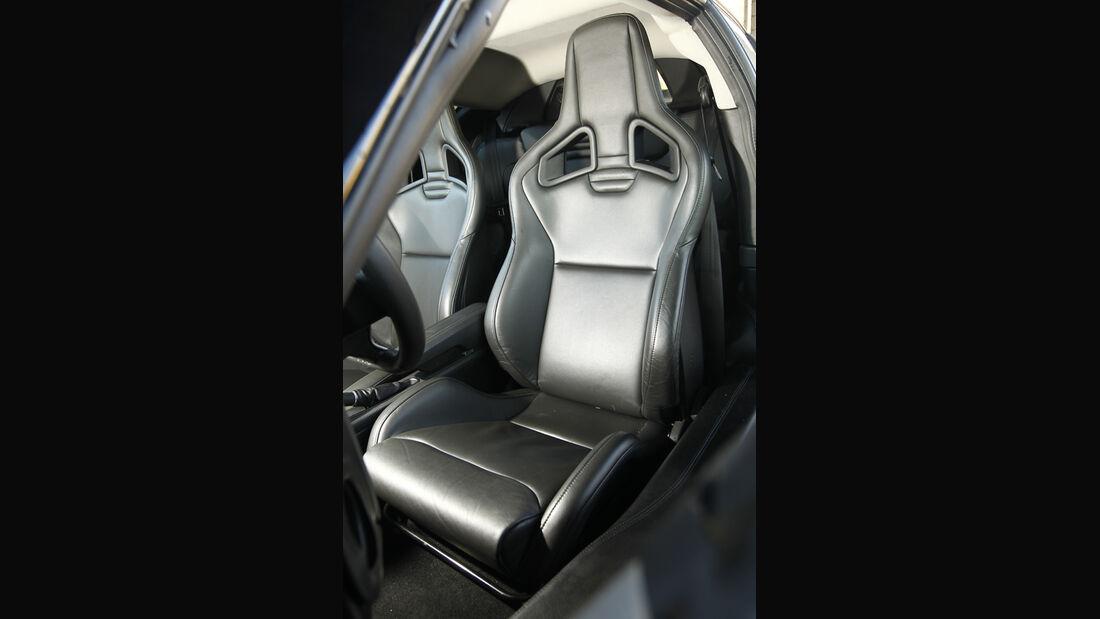 Lotus Evora S, Fahrersitz