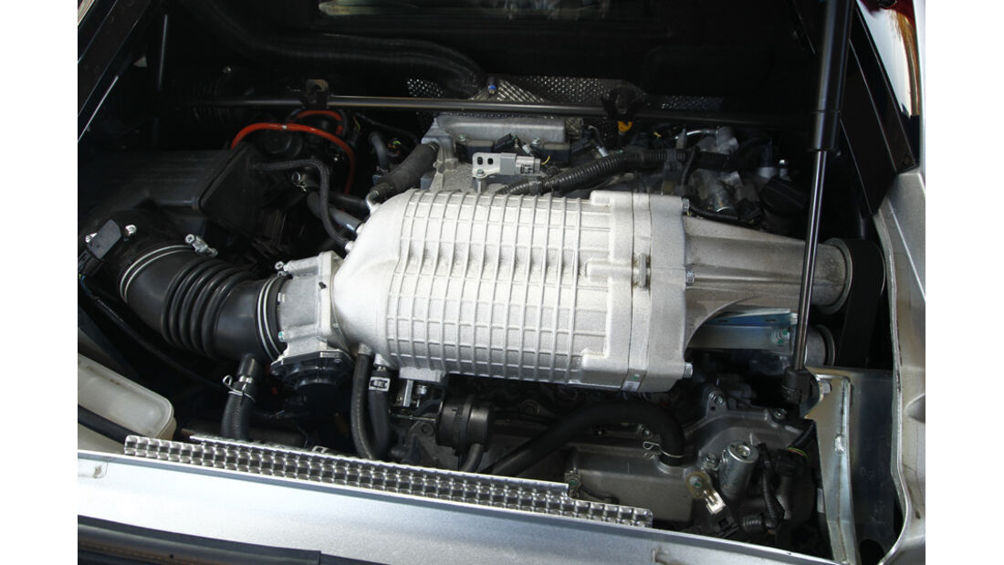 Lotus Evora S, Motor, 2GR-FE-Aggregat