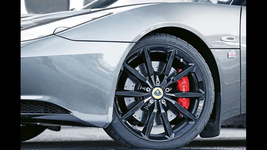 Lotus Evora S Sports Racer, Rad, Felge, Bremse