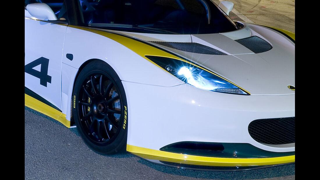 Lotus Evora Type 124 Endurance Racecar
