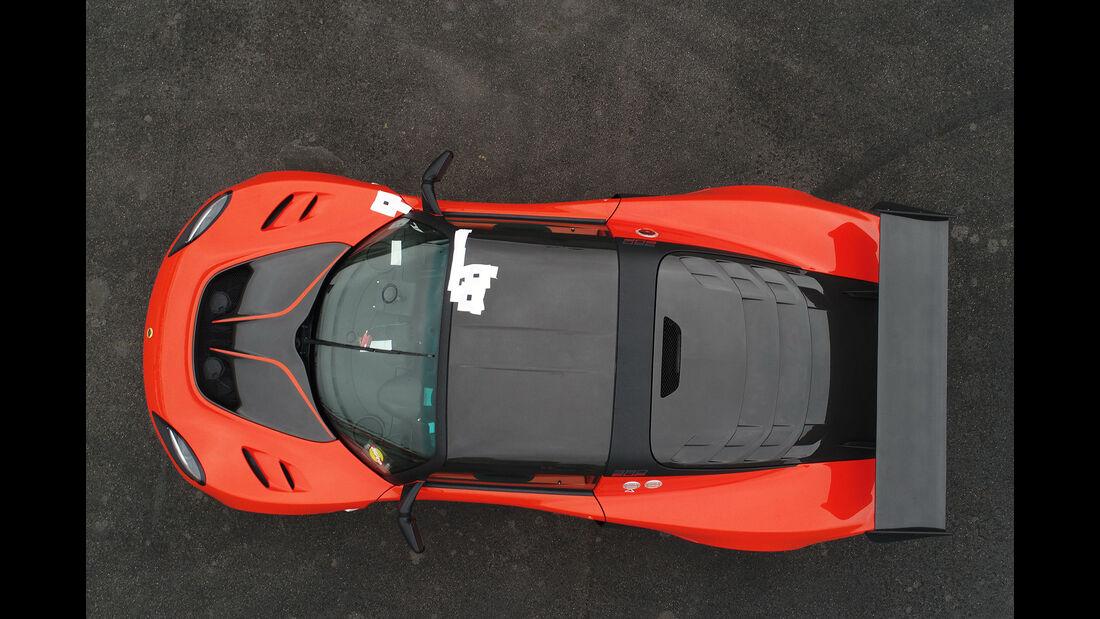 Lotus Exige Cup 380, Exterieur, Dach