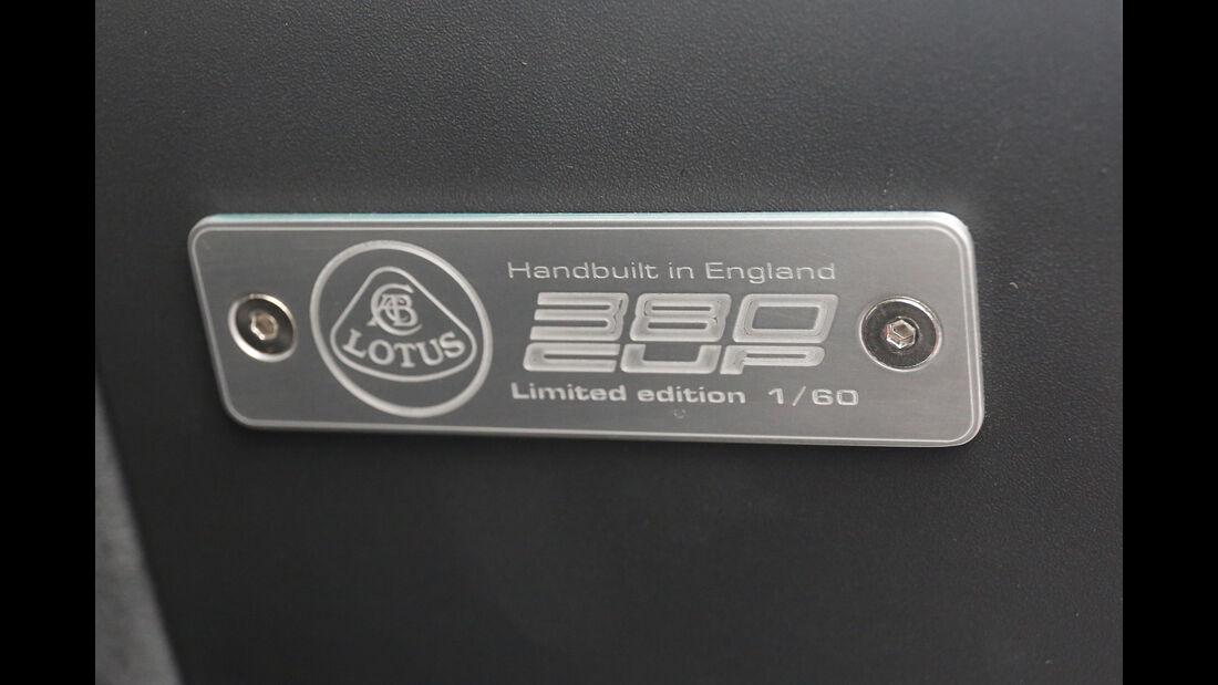 Lotus Exige Cup 380, Interieur, Detail