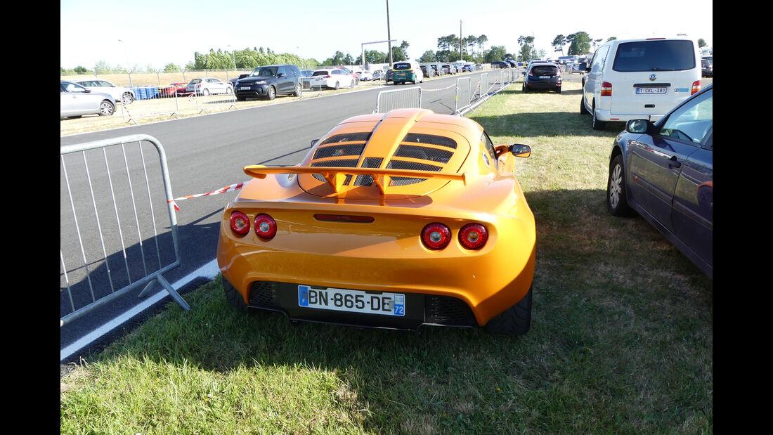 Lotus Exige S - Carspotting - Fan-Autos - 24h-Rennen Le Mans 2017