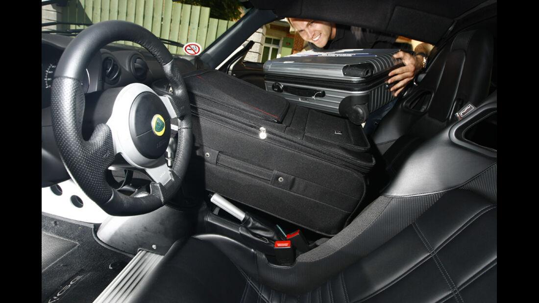 Lotus Exige S, Cockpit