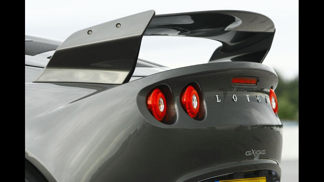 Lotus Exige S, Heck