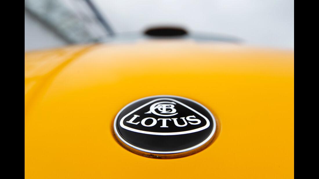 Lotus Exige S RGB Special Edition, Emblem, Logo