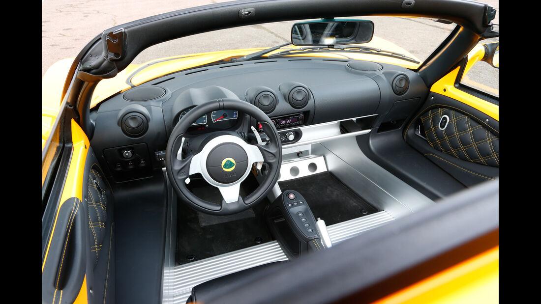 Lotus Exige S Roadster Automatic Option, Cockpit