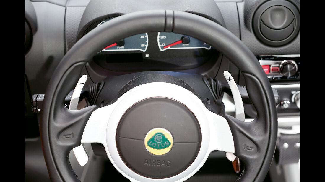 Lotus Exige S Roadster Automatic Option, Lenkrad