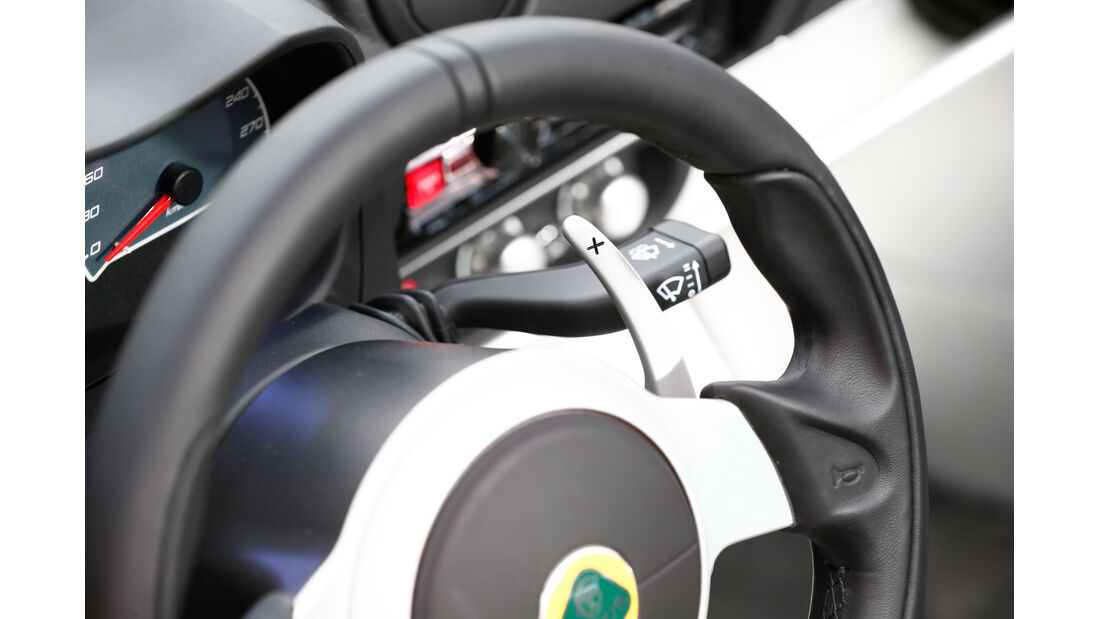 Lotus Exige S Roadster Automatic Option, Lenkradschalter