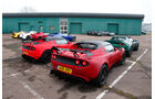 Lotus Exige S Roadster Automatic Option, Lotus Elise S Cup, Gruppenbild
