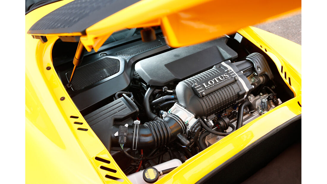 Lotus Exige S Roadster Automatic Option, Motor