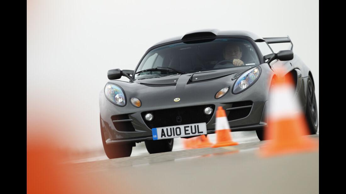 Lotus Exige S, Slalomkurs