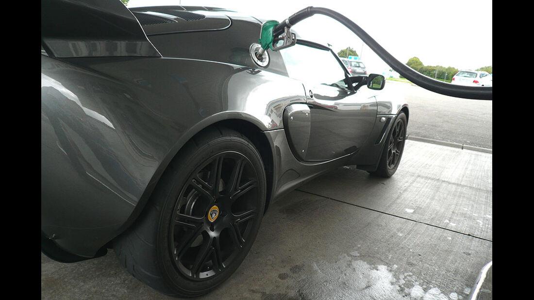 Lotus Exige S, Tanken