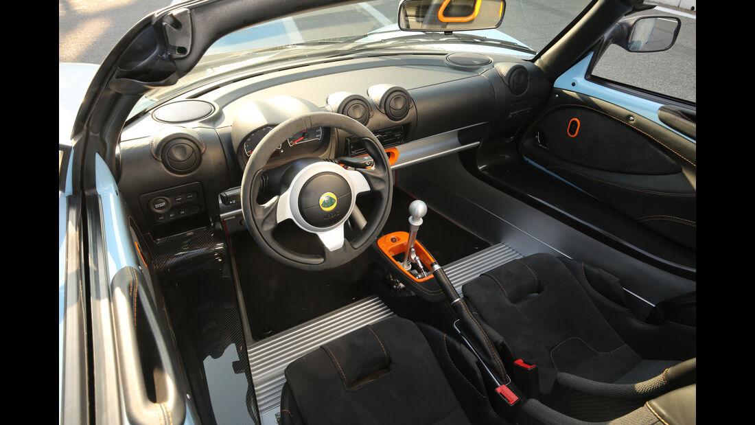 Lotus Exige Sport 380 Roadster, Cockpit
