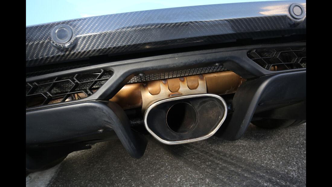Lotus Exige Sport 380 Roadster, Endrohr