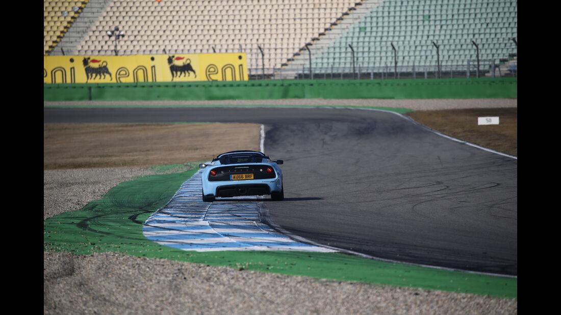 Lotus Exige Sport 380 Roadster, Heckansicht