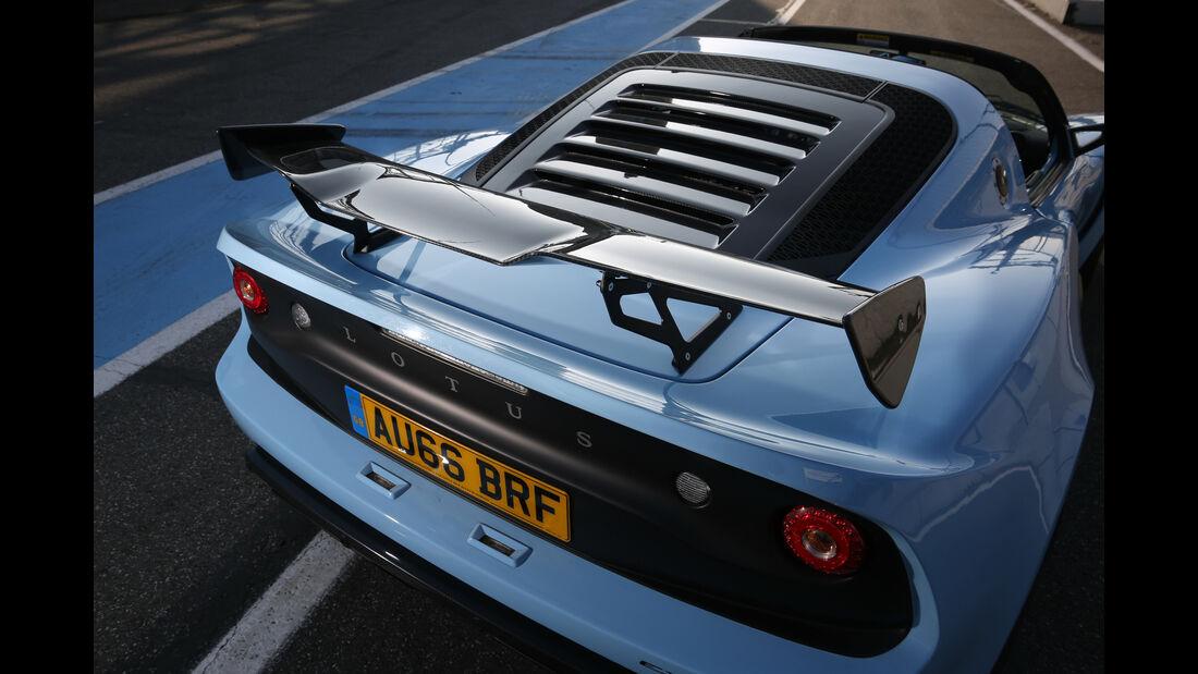 Lotus Exige Sport 380 Roadster, Heckspoiler