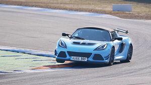 Lotus Exige Sport 380 Roadster, Kurvenfahrt