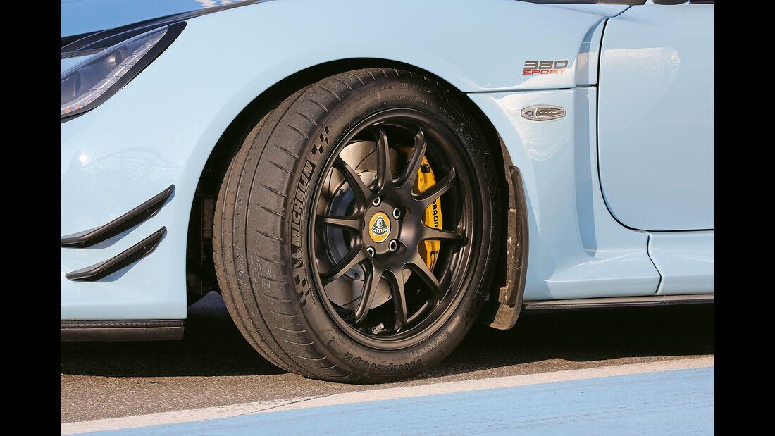 Lotus Exige Sport 380 Roadster, Rad, Felge