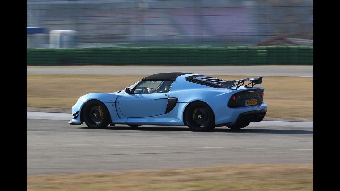 Lotus Exige Sport 380 Roadster, Seitenansicht