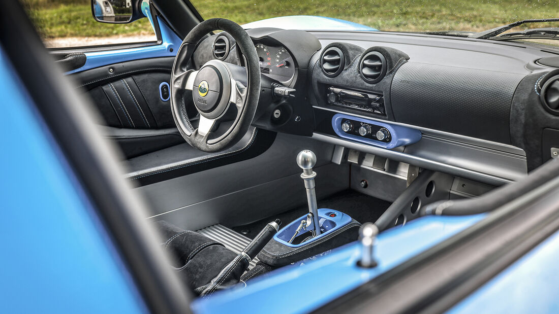 Lotus Exige Sport 410, Interieur