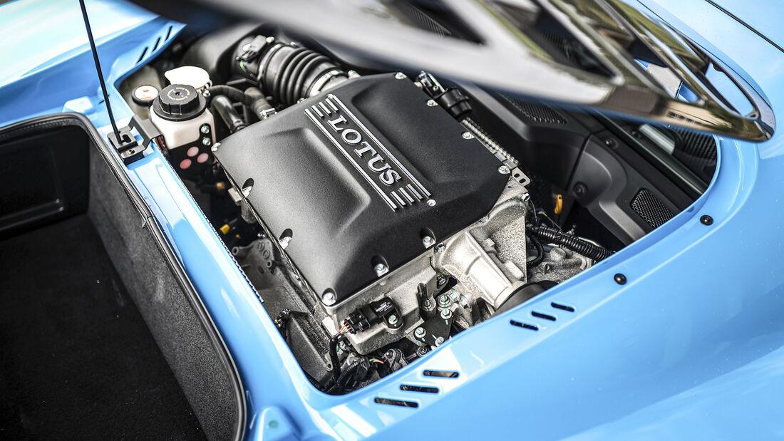 Lotus Exige Sport 410, Motor