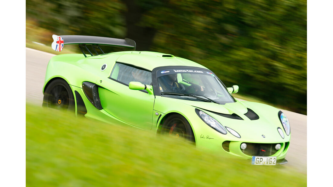 Lotus Exile Mk2, Frontansicht