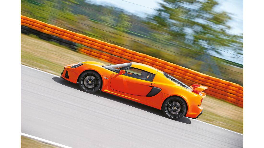 Lotus Exoge S - Mittelmotor - Sportwagen