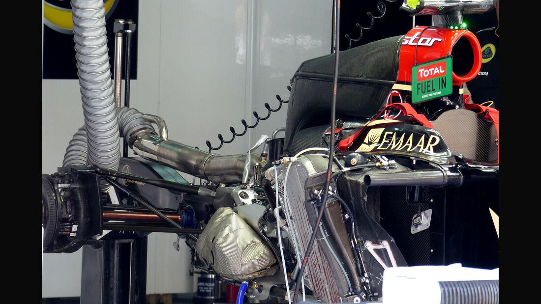 Lotus - F1 Motor 2014