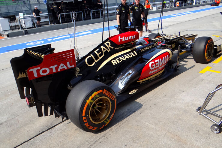Lotus F1 Technik 2013