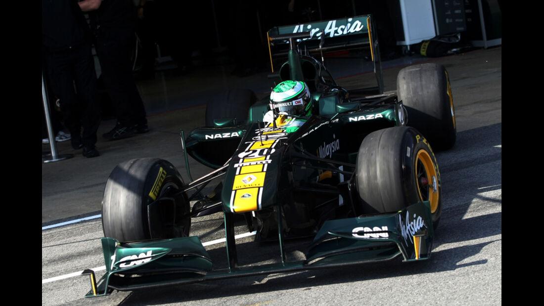 Lotus F1 Test 2011
