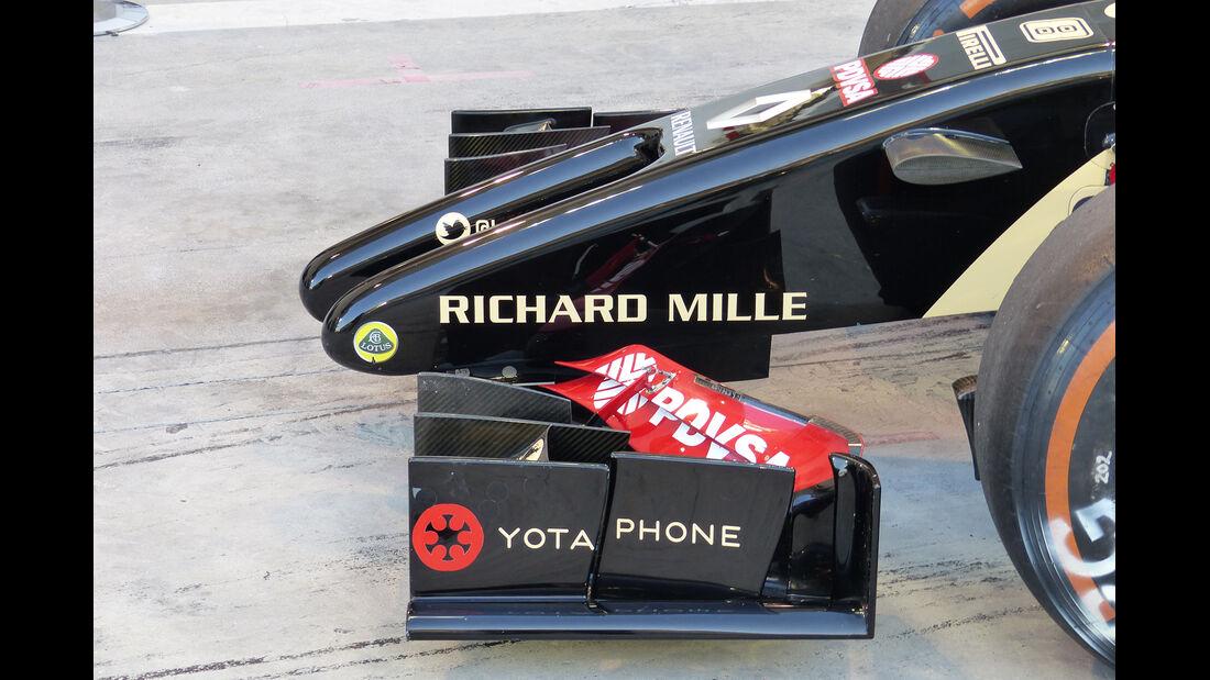 Lotus - F1-Tests - 2014