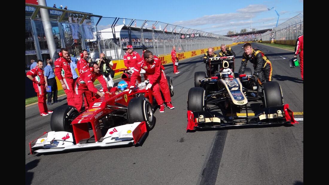 Lotus Ferrari GP Australien 2012