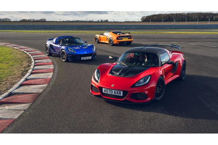 Final Editions Lotus Elise and Exige: 5 Leichtbau-Sportwagen zum Abschluss - auto motor und sport