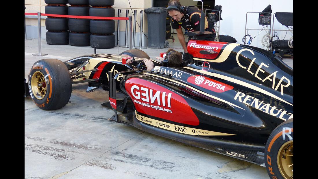 Lotus - Formel 1 - Bahrain - Test - 2. März 2014