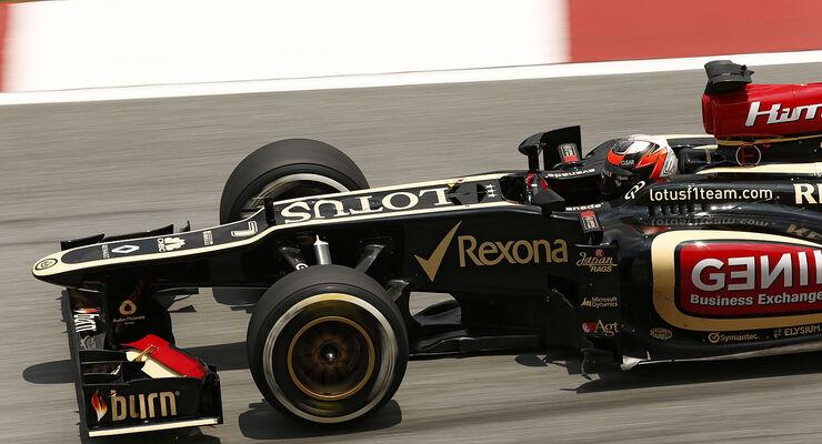 Lotus Formel 1 E21 Nase Front