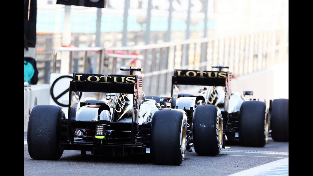 Lotus - Formel 1 - GP Abu Dhabi - 02. November 2013