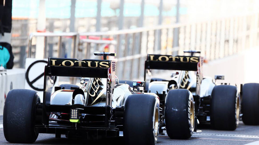 Lotus - Formel 1 - GP Abu Dhabi - 02. November 2013