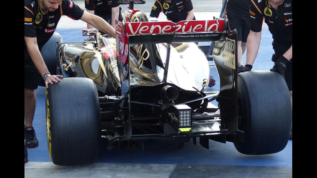 Lotus - Formel 1 - GP Abu Dhabi - 20. November 2014