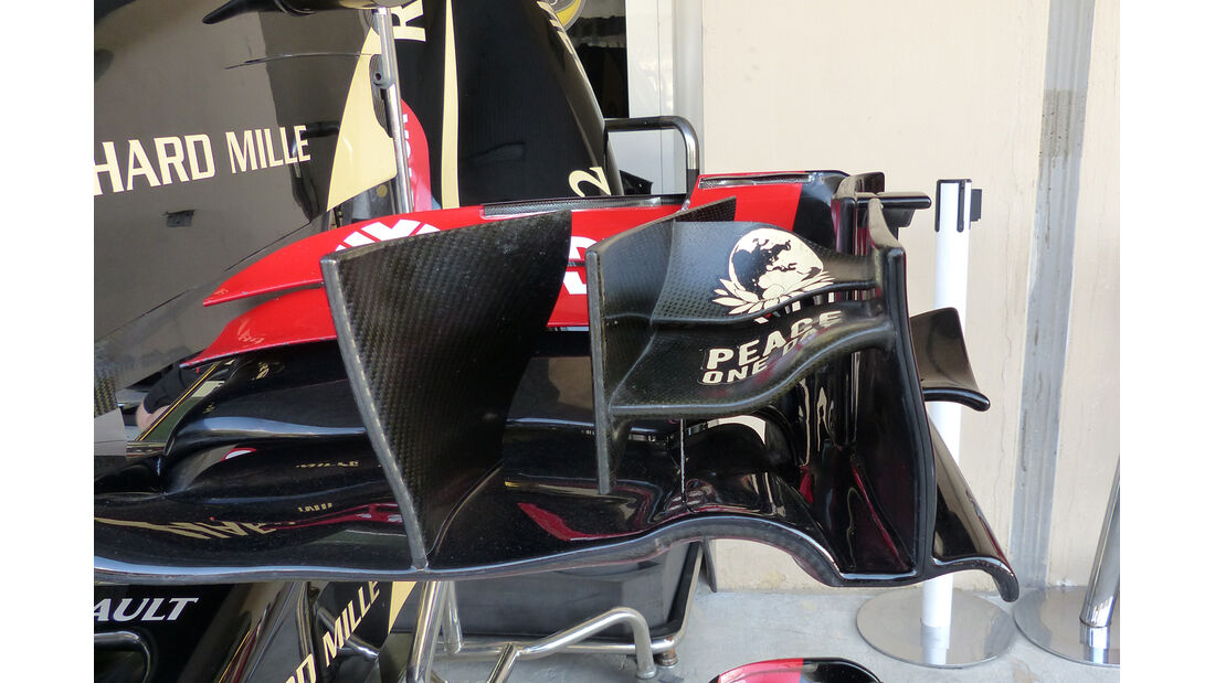 Lotus - Formel 1 - GP Abu Dhabi - 21. November 2014