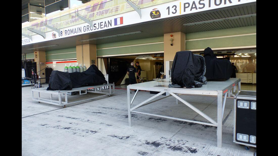 Lotus - Formel 1 - GP Abu Dhabi - 26. November 2015
