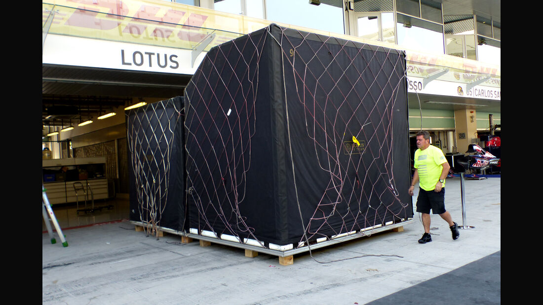 Lotus - Formel 1 - GP Abu Dhabi - 26. November 2015