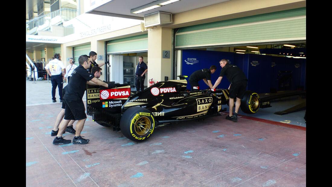Lotus - Formel 1 - GP Abu Dhabi - 27. November 2015