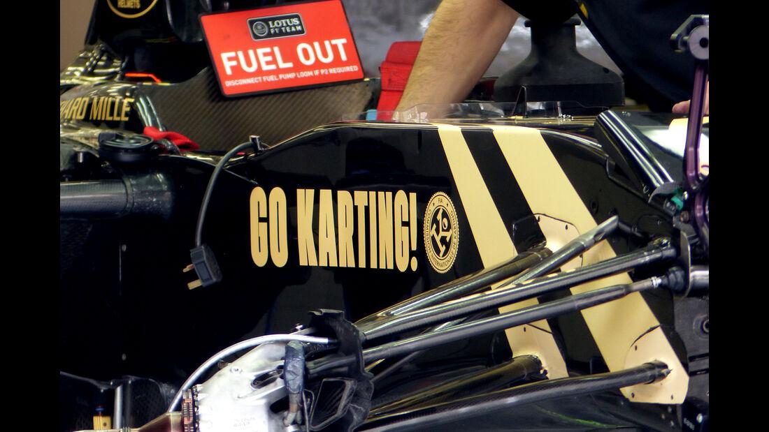 Lotus - Formel 1 - GP Bahrain - 16. April 2015