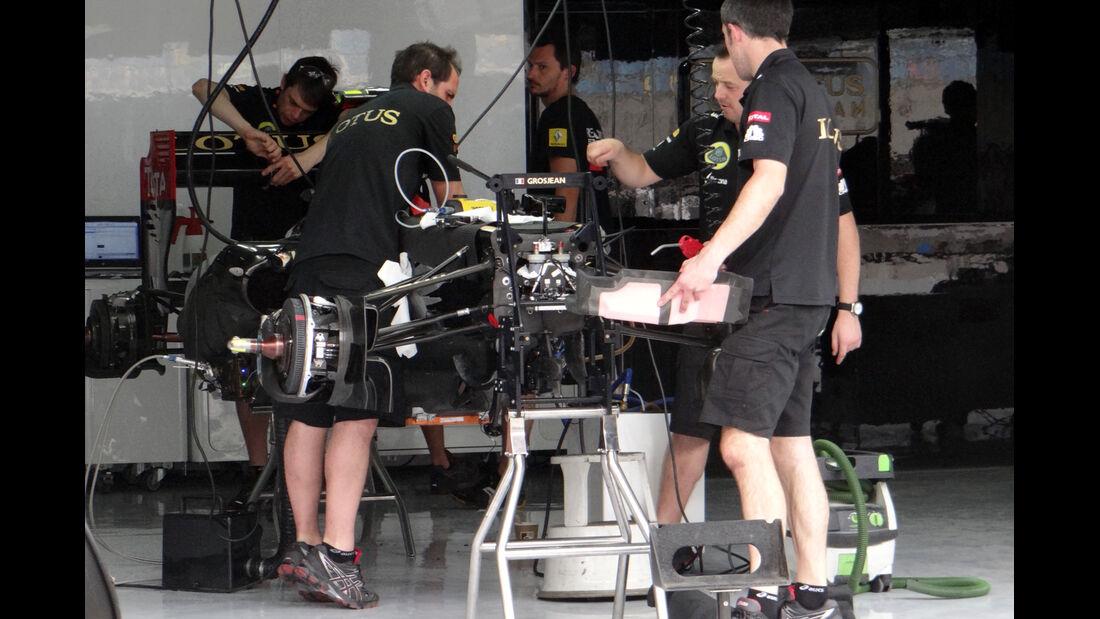 Lotus - Formel 1 - GP Bahrain - 18. April 2013