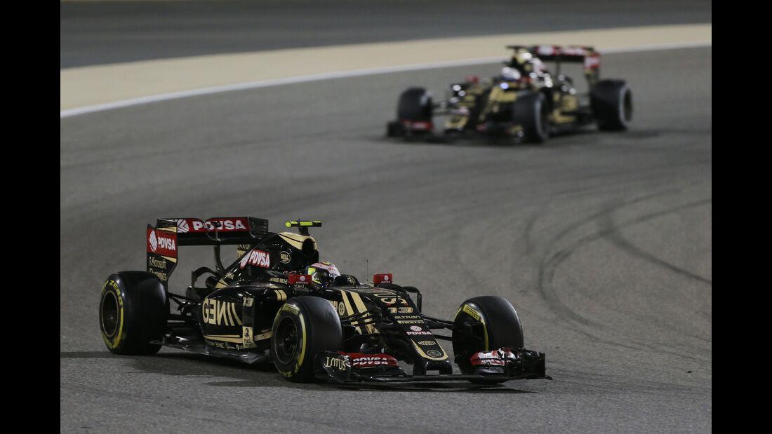 Lotus - Formel 1 - GP Bahrain 2015