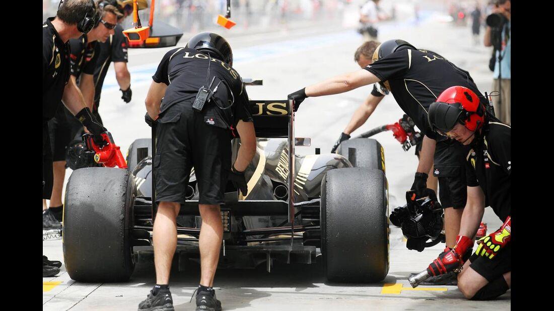 Lotus - Formel 1 - GP Bahrain - 21. April 2012