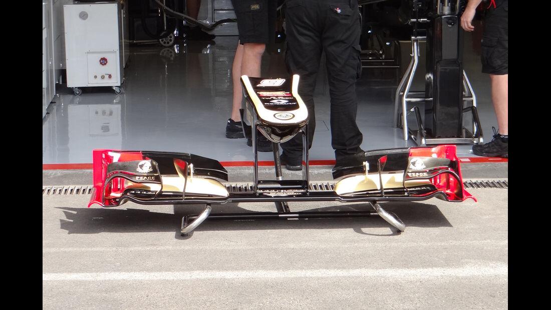 Lotus - Formel 1 - GP Belgien - Spa - 30.8.2012