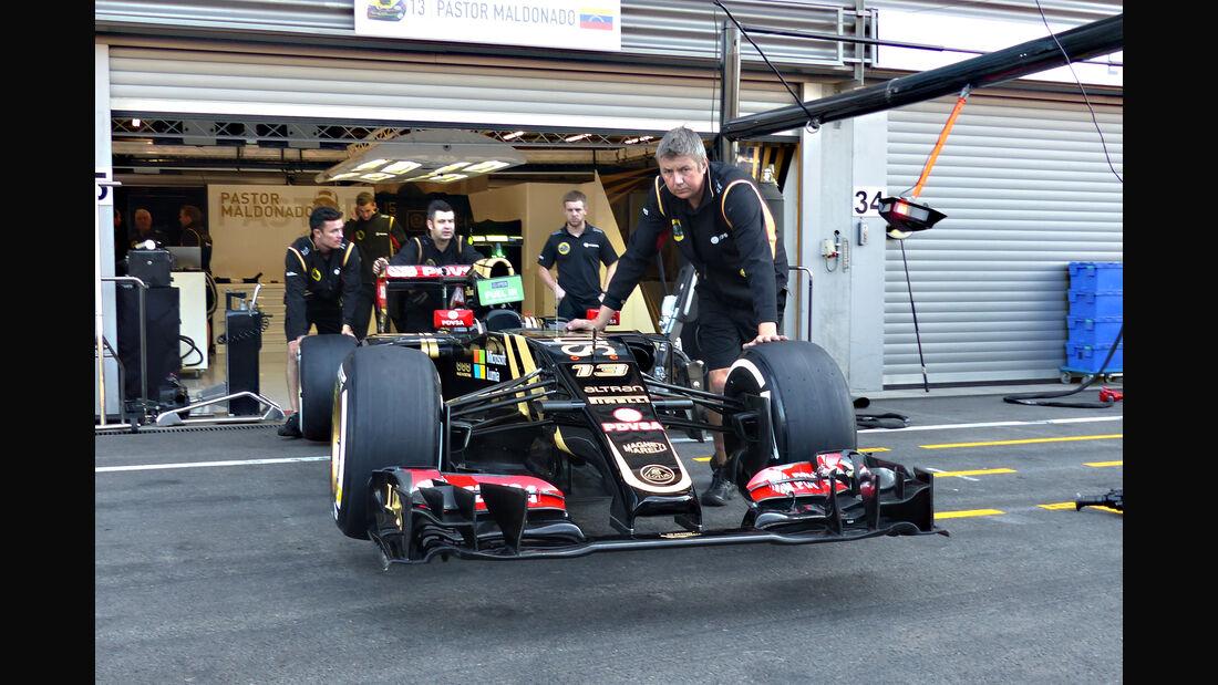 Lotus - Formel 1 - GP Belgien - Spa-Francorchamps - 21. August 2015