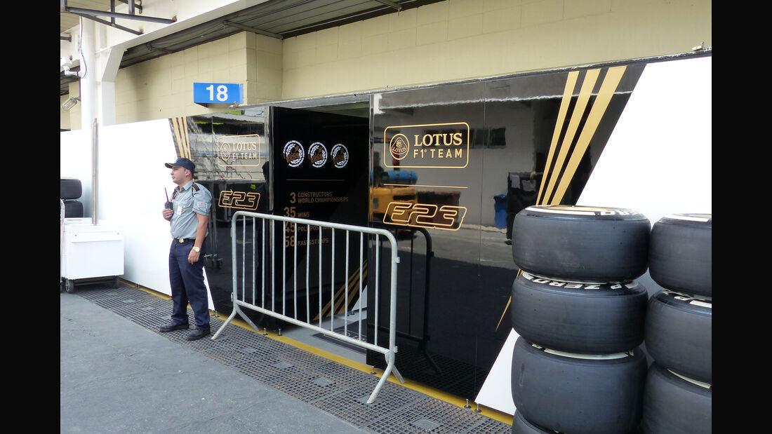 Lotus - Formel 1 - GP Brasilien- 11. November 2015